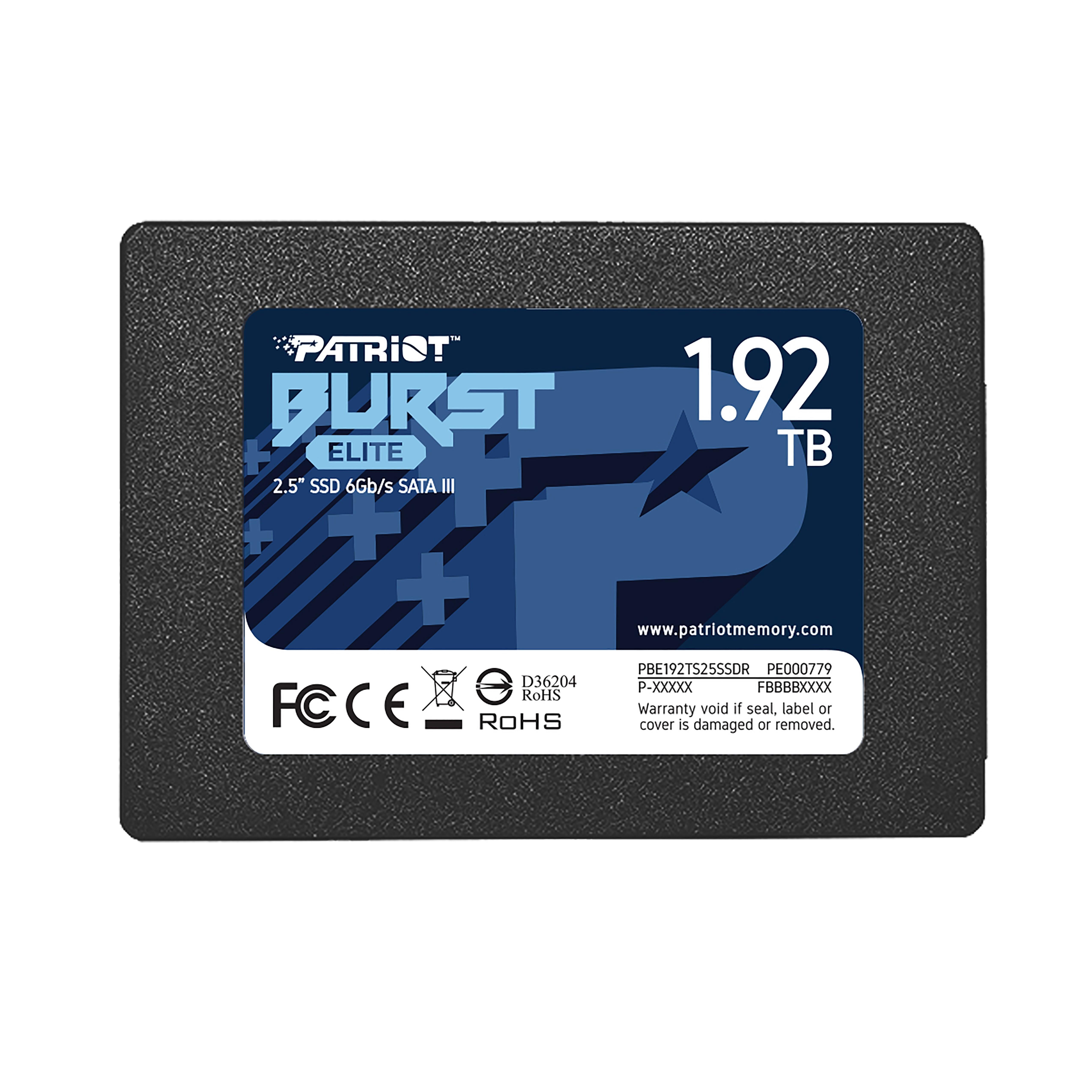 "Patriot Memory Burst Elite 2.5"" 1920 GB SATA III"