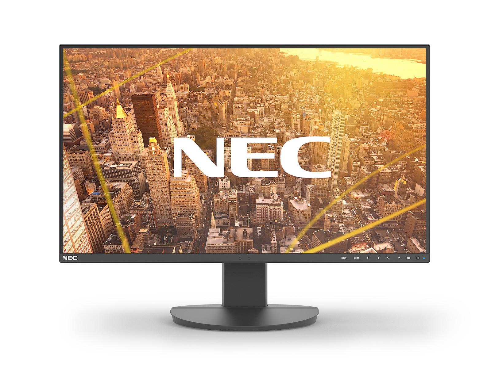 "NEC MultiSync EA242F 60,5 cm (23.8"") 1920 x 1080 Pixels Full HD LED Zwart"