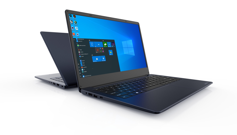 "Dynabook Satellite Pro C40-H-115 DDR4-SDRAM Notebook 35,6 cm (14"") 1920 x 1080 Pixels Intel® 10de generatie Core™ i3 8 GB 256 GB SSD Wi-Fi 5 (802.11ac) Windows 10 Home Blauw"