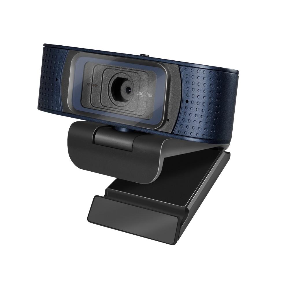 LogiLink UA0379 webcam 2 MP 1920 x 1080 Pixels USB 2.0 Zwart