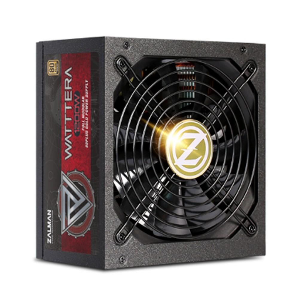 Zalman ZM1200-EBTII power supply unit 1200 W 24-pin ATX ATX Zwart
