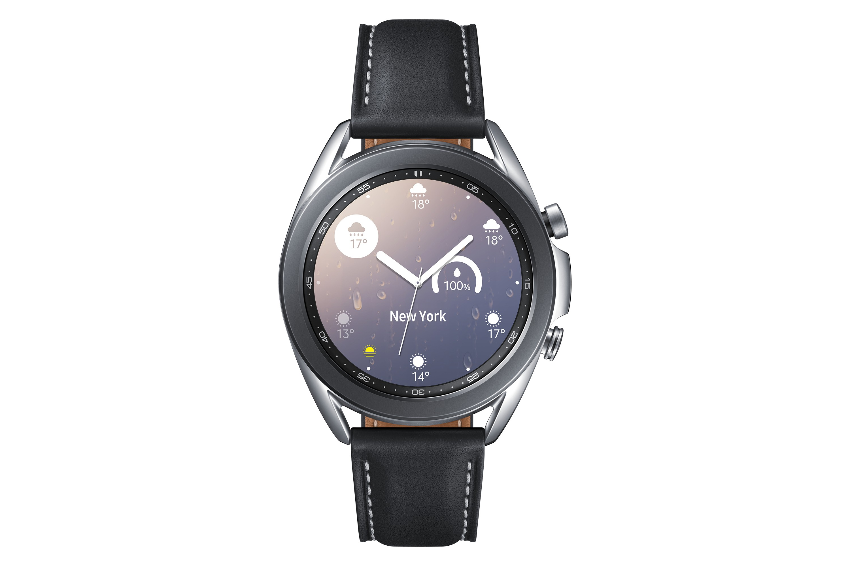 "Samsung Galaxy Watch3 3,05 cm (1.2"") SAMOLED Zilver GPS"