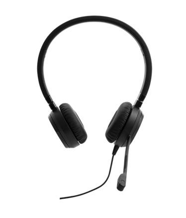 Lenovo Pro Wired Stereo VOIP Headset Bedraad Hoofdband Kantoor/callcenter Zwart