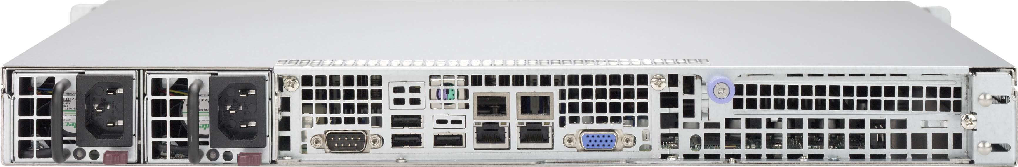 Supermicro 514-R400C computerbehuizing Rack Black 400 W