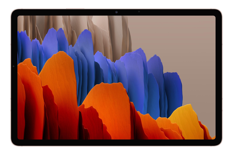 "Samsung Galaxy Tab S7 SM-T870N 128 GB 27,9 cm (11"") Qualcomm Snapdragon 6 GB Wi-Fi 6 (802.11ax) Android 10 Brons"
