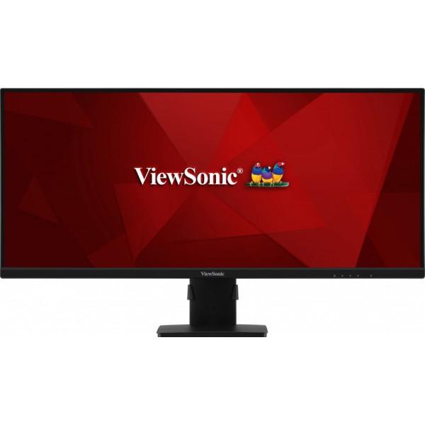"""Viewsonic VA3456-mhdj 86,4 cm (34"""") 3440 x 1440 Pixels UltraWide Quad HD LED Zwart"""