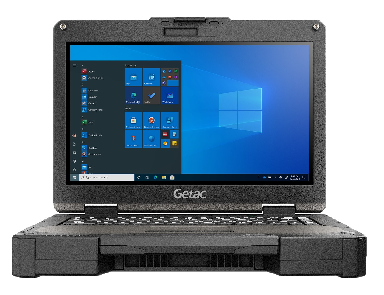 "Getac B360 PRO DDR4-SDRAM Notebook 33,8 cm (13.3"") 1920 x 1080 Pixels Touchscreen Intel® 10de generatie Core™ i5 8 GB 256 GB SSD NVIDIA® GeForce® GTX 1050 Wi-Fi 6 (802.11ax) Windows 10 Pro Zwart"