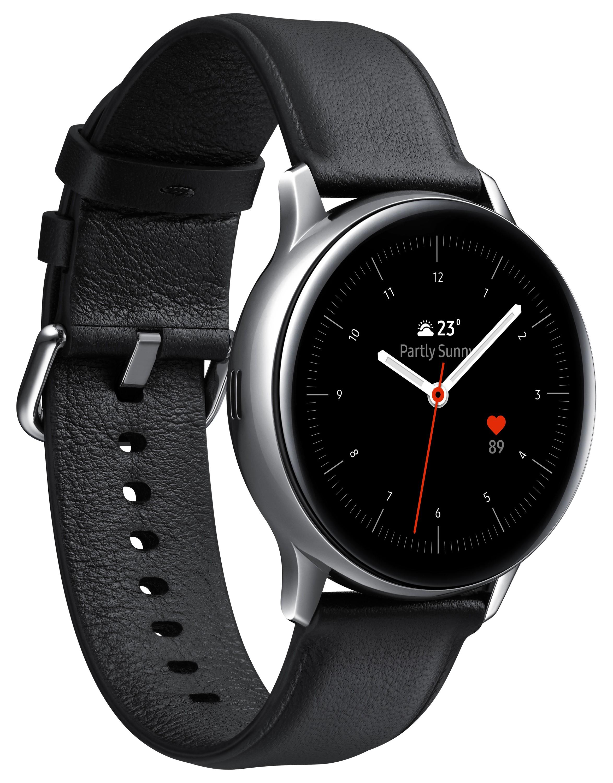 "Samsung Galaxy Watch Active 2 SAMOLED 3,02 cm (1.19"") 40 mm Zilver 4G GPS"