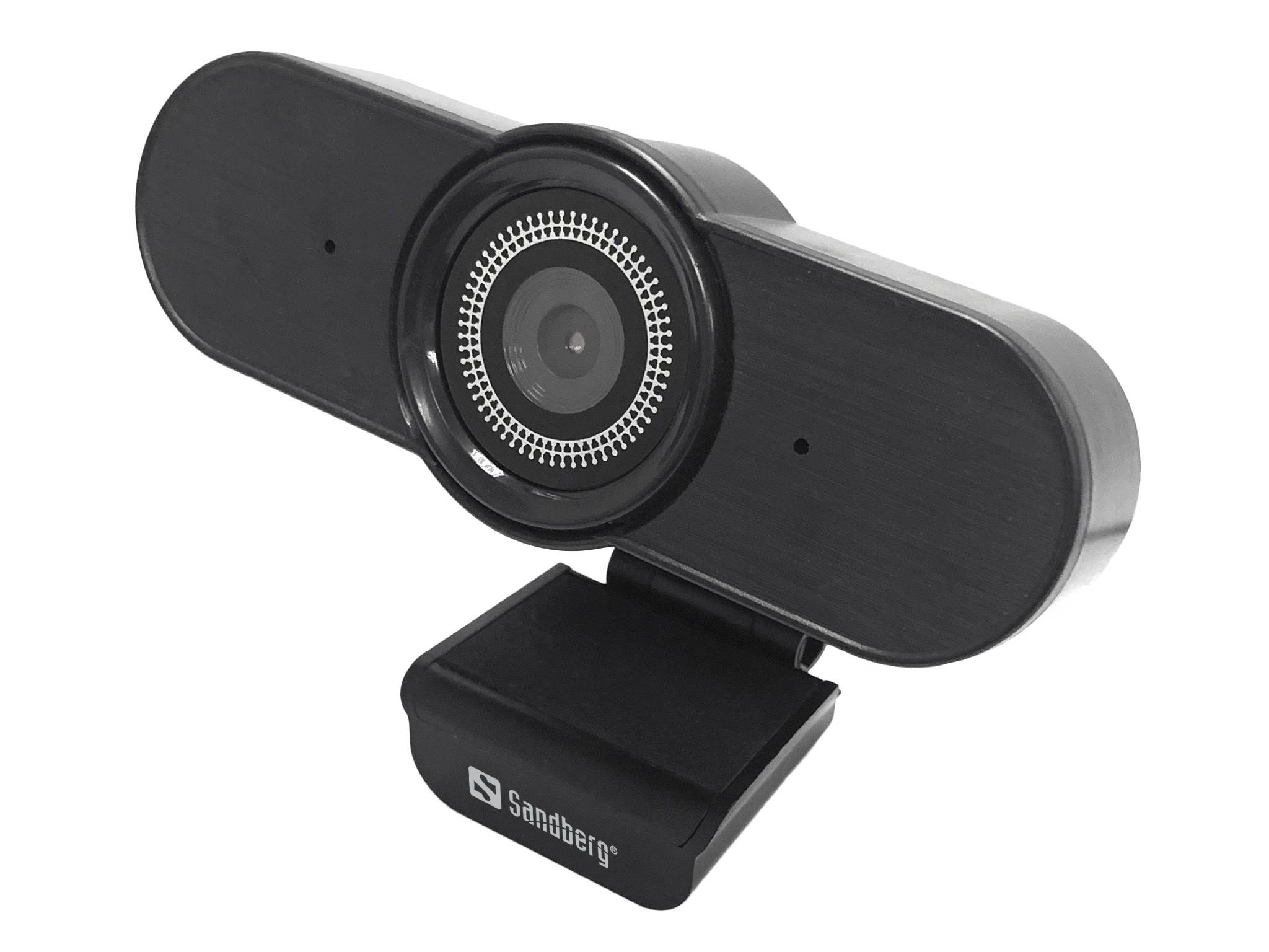 Sandberg 134-20 webcam 1920 x 1080 Pixels USB 2.0 Zwart