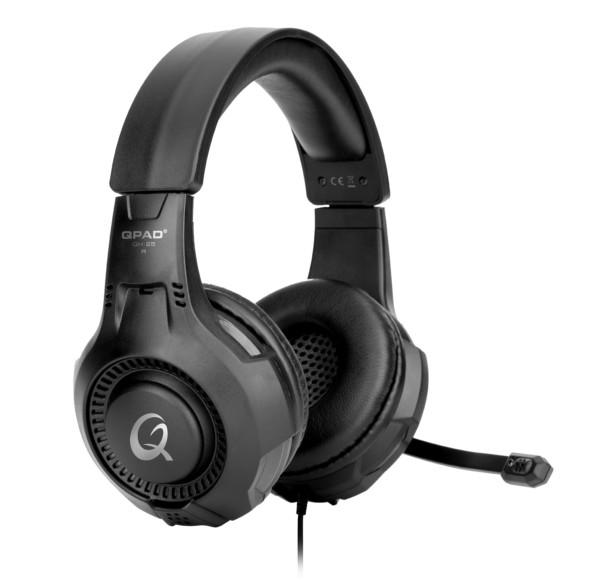 QPAD QH-25 Headset Hoofdband Zwart
