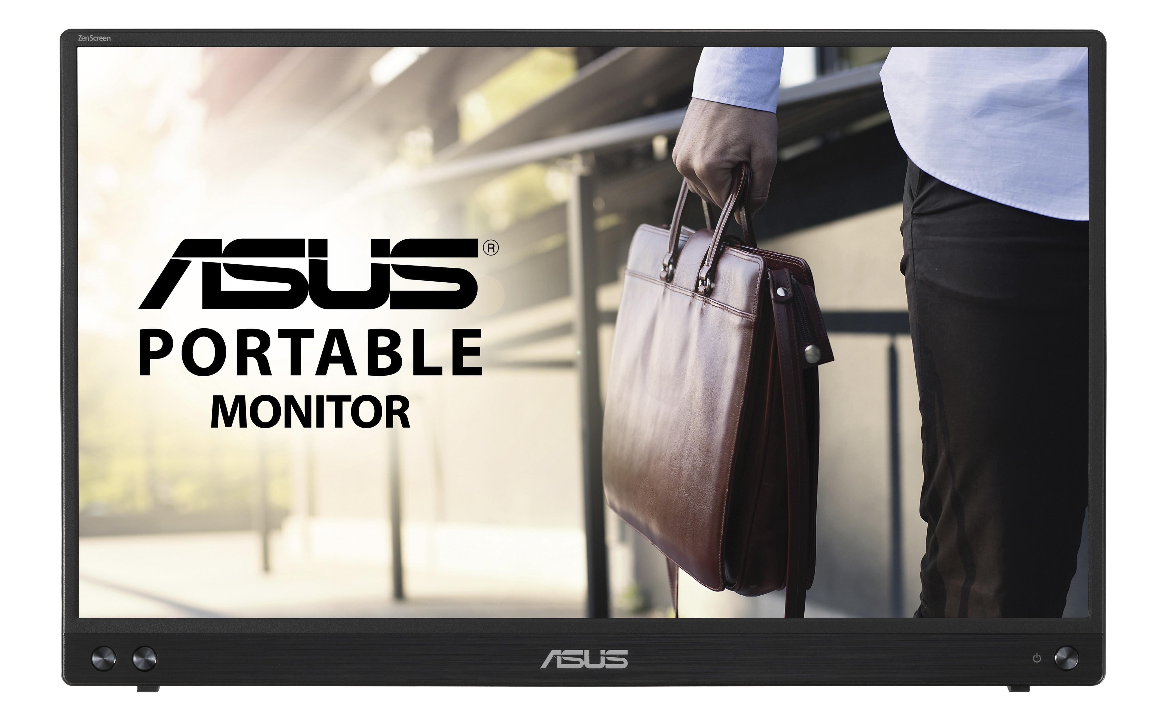 "ASUS MB16ACV 39,6 cm (15.6"") 1920 x 1080 Pixels Full HD LED Zwart"