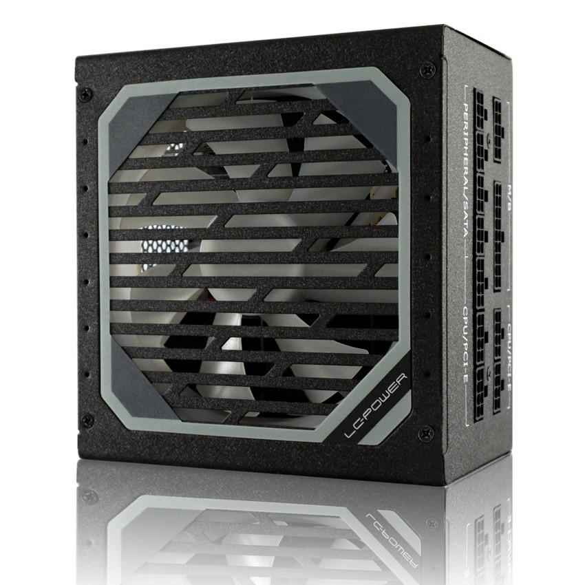 LC-Power LC6550M V2.31 power supply unit 550 W 24-pin ATX ATX Zwart