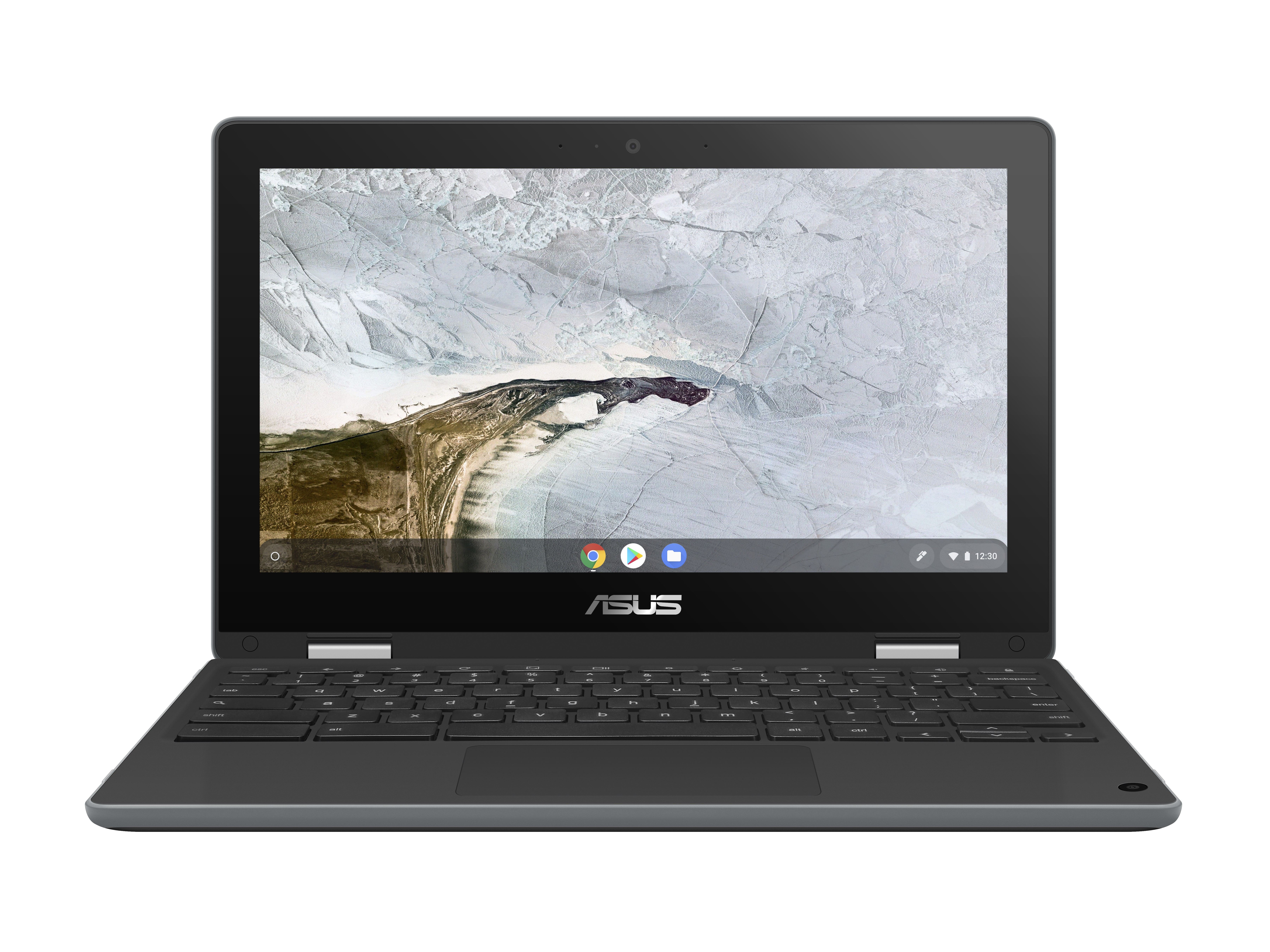 "ASUS Chromebook Flip C214MA-BU0308 LPDDR4-SDRAM 29,5 cm (11.6"") 1366 x 768 Pixels Touchscreen Intel® Celeron® N 4 GB 32 GB eMMC Wi-Fi 5 (802.11ac) Chrome OS Grijs"