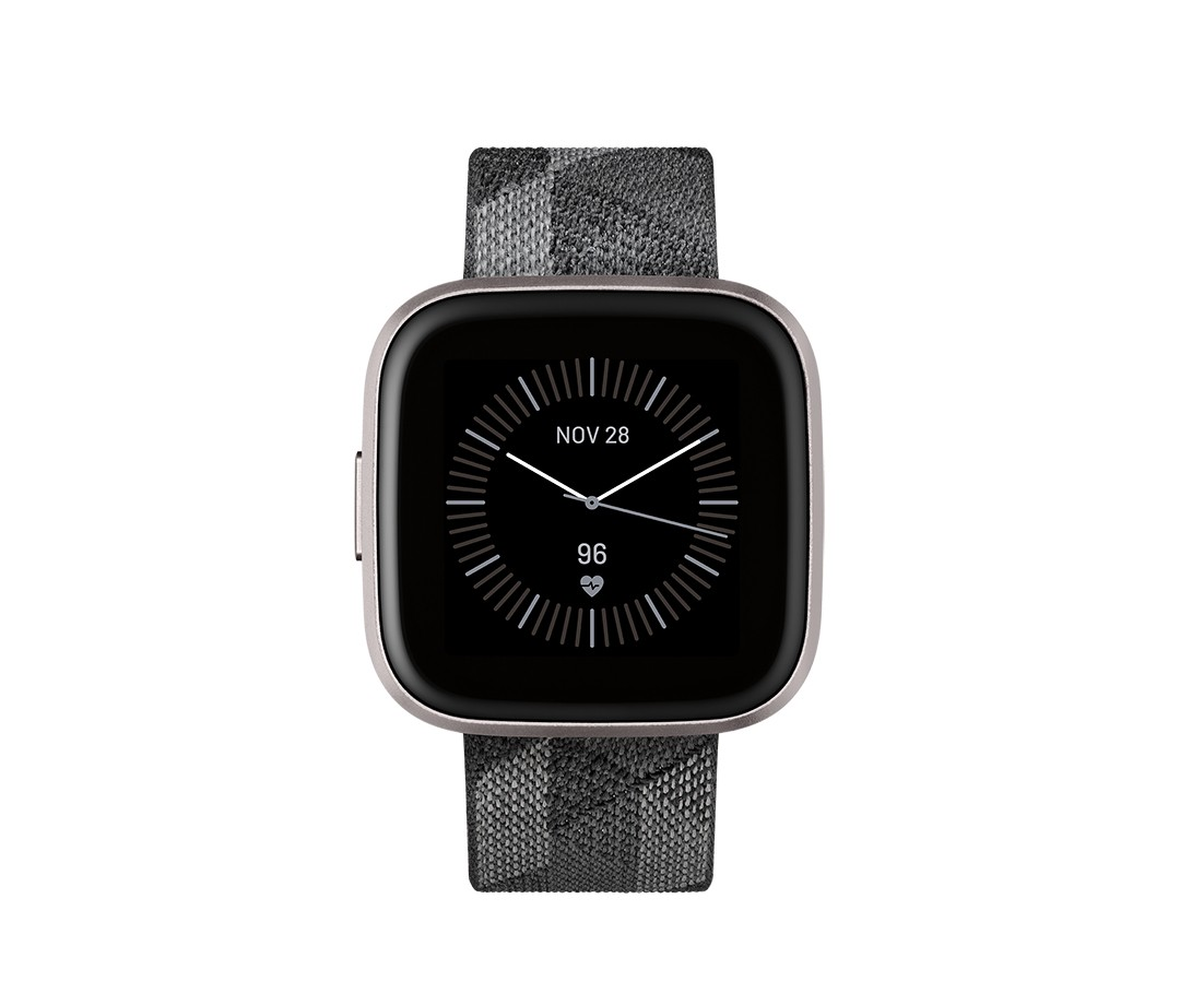"Fitbit Versa 2 3,55 cm (1.4"") 40 mm AMOLED Zwart, Grijs"