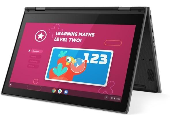 "Lenovo 300e Chromebook 29,5 cm (11.6"") Touchscreen HD Intel® Celeron® N 4 GB LPDDR4-SDRAM 32 GB eMMC Wi-Fi 5 (802.11ac) Chrome OS Zwart"