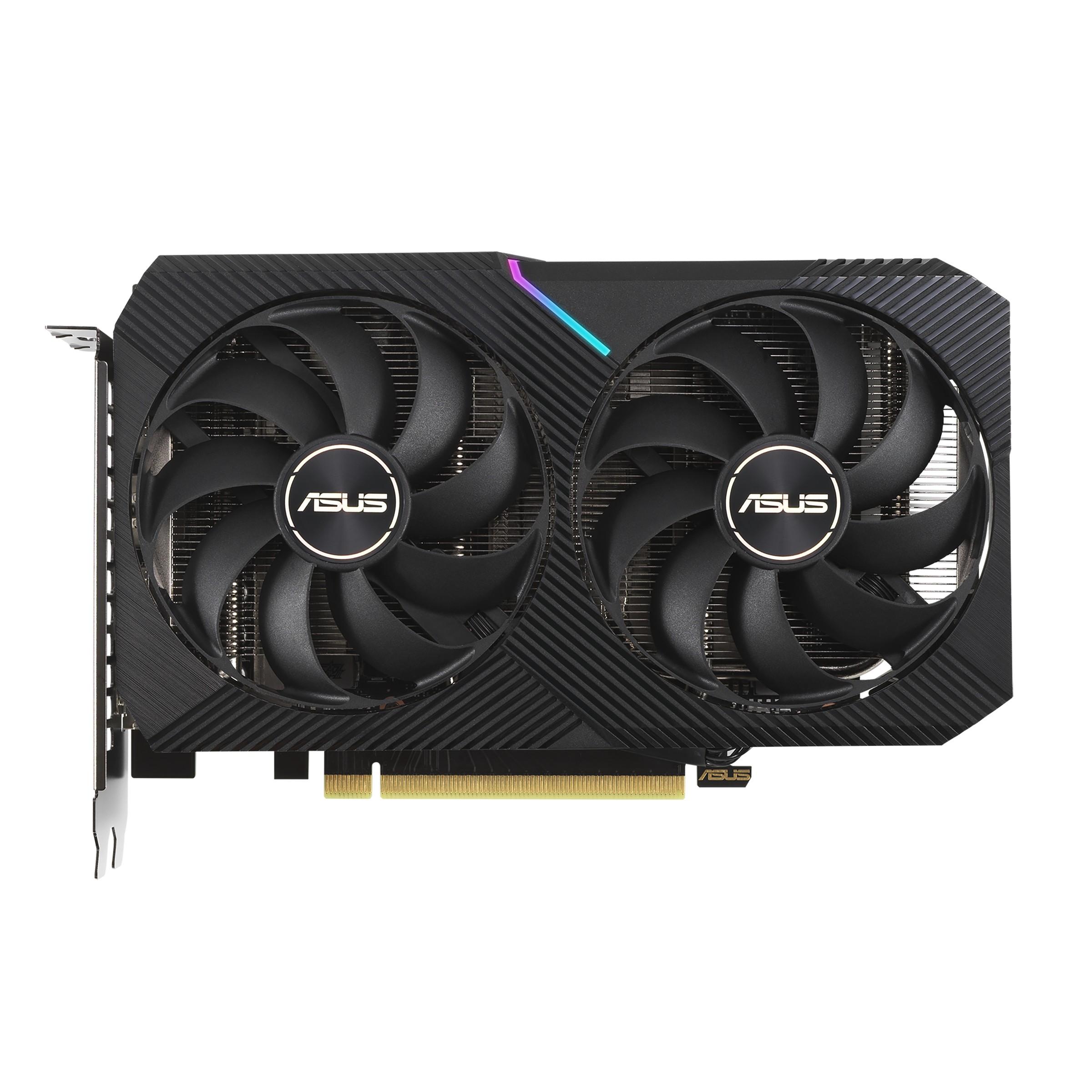 ASUS Dual -RTX3060-O12G-V2 NVIDIA GeForce RTX 3060 12 GB GDDR6