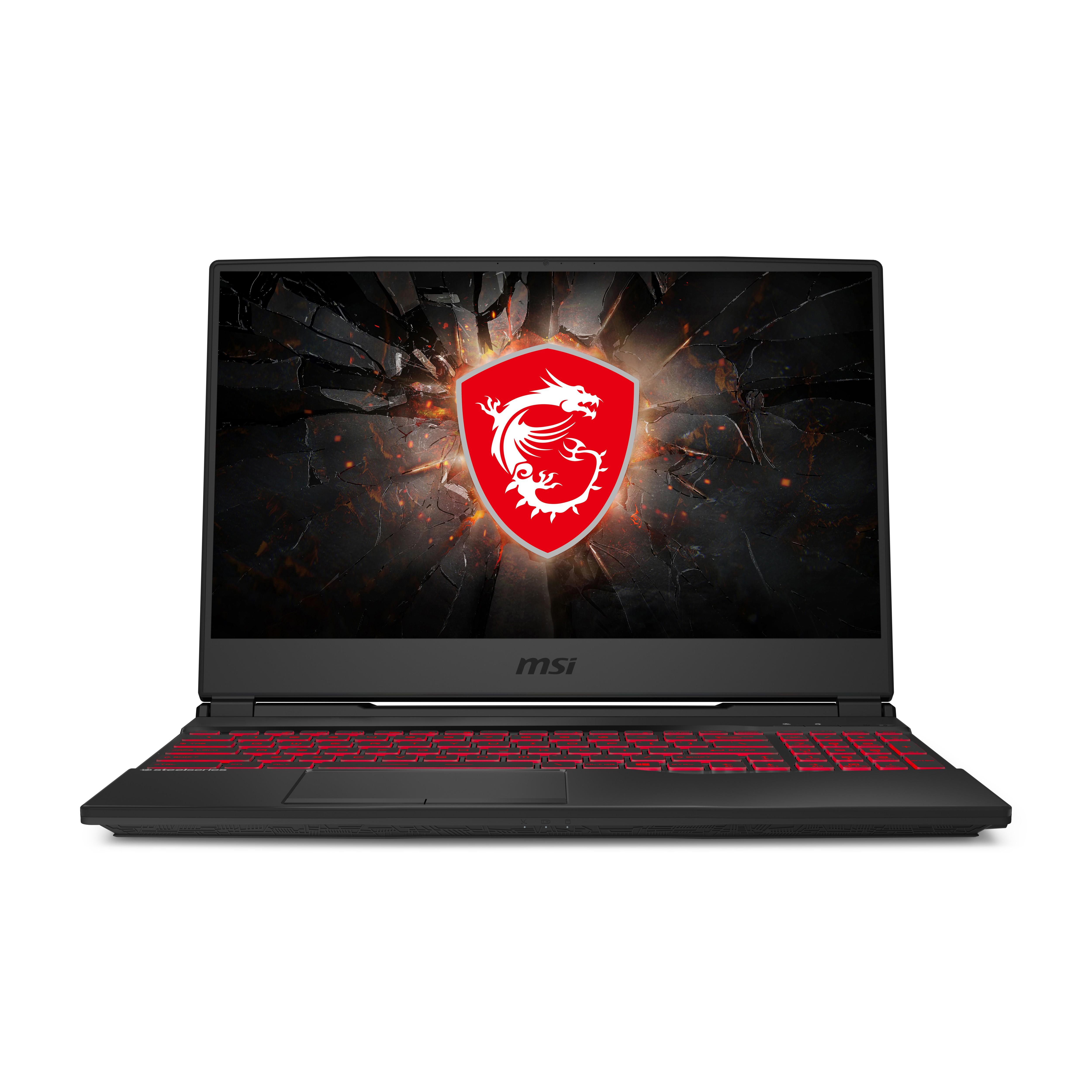 "MSI Gaming GL65 10SFSK-289NL Leopard Notebook 39,6 cm (15.6"") Full HD Intel® 10de generatie Core™ i7 16 GB DDR4-SDRAM 512 GB SSD NVIDIA GeForce RTX 2070 SUPER Wi-Fi 6 (802.11ax) Windows 10 Home Zwart"