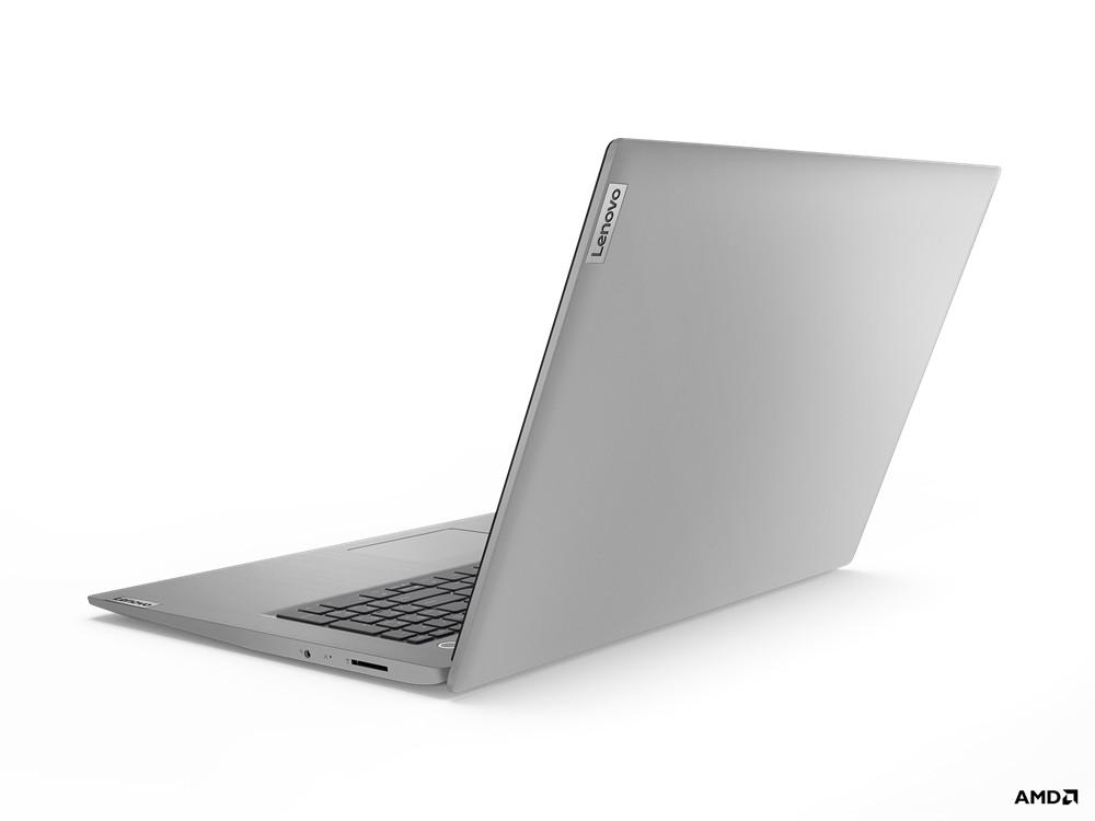 """Lenovo IdeaPad 3 DDR4-SDRAM Notebook 43,9 cm (17.3"""") 1600 x 900 Pixels AMD Ryzen 3 8 GB 256 GB SSD Wi-Fi 5 (802.11ac) Windows 10 Home Grijs, Platina"""