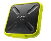 ADATA SD700 256 GB Zwart, Geel