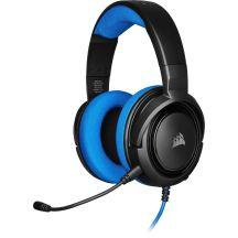 Corsair HS35 Headset Hoofdband Zwart, Blauw