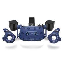 HTC VIVE Pro Eye Op het hoofd gedragen beeldscherm (HMD) Zwart, Blauw