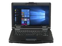"Panasonic Toughbook 55 Full-HD Touch Notebook Zwart, Zilver 35,6 cm (14"") 1920 x 1080 Pixels Touchscreen Intel® 8de generatie Core™ i5 8 GB DDR4-SDRAM 256 GB SSD Wi-Fi 5 (802.11ac) Windows 10 Pro"