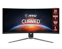 """MSI MPG Artymis 343CQR 86,4 cm (34"""") 3440 x 1440 Pixels UltraWide Quad HD LCD Zwart"""