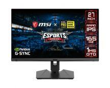 "MSI Optix MAG274QRF-QD 68,6 cm (27"") 2560 x 1440 Pixels LCD Zwart"