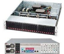 Supermicro SuperChassis 216BA-R920LPB computerbehuizing Rack Zwart 920 W