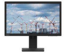 """Lenovo ThinkVision E22-20 54,6 cm (21.5"""") 1920 x 1080 Pixels Full HD LED Zwart"""