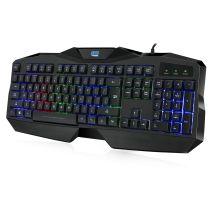 Adesso AKB-138EB toetsenbord USB QWERTY Amerikaans Engels Zwart