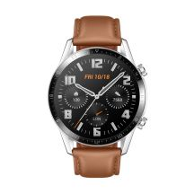 """Huawei WATCH GT 2 3,53 cm (1.39"""") 46 mm AMOLED Roestvrijstaal GPS"""