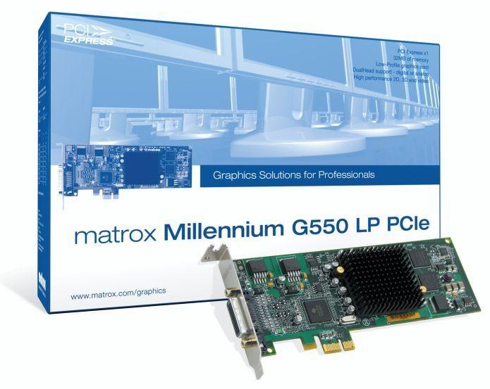 Matrox G55-MDDE32LPDF videokaart GDDR