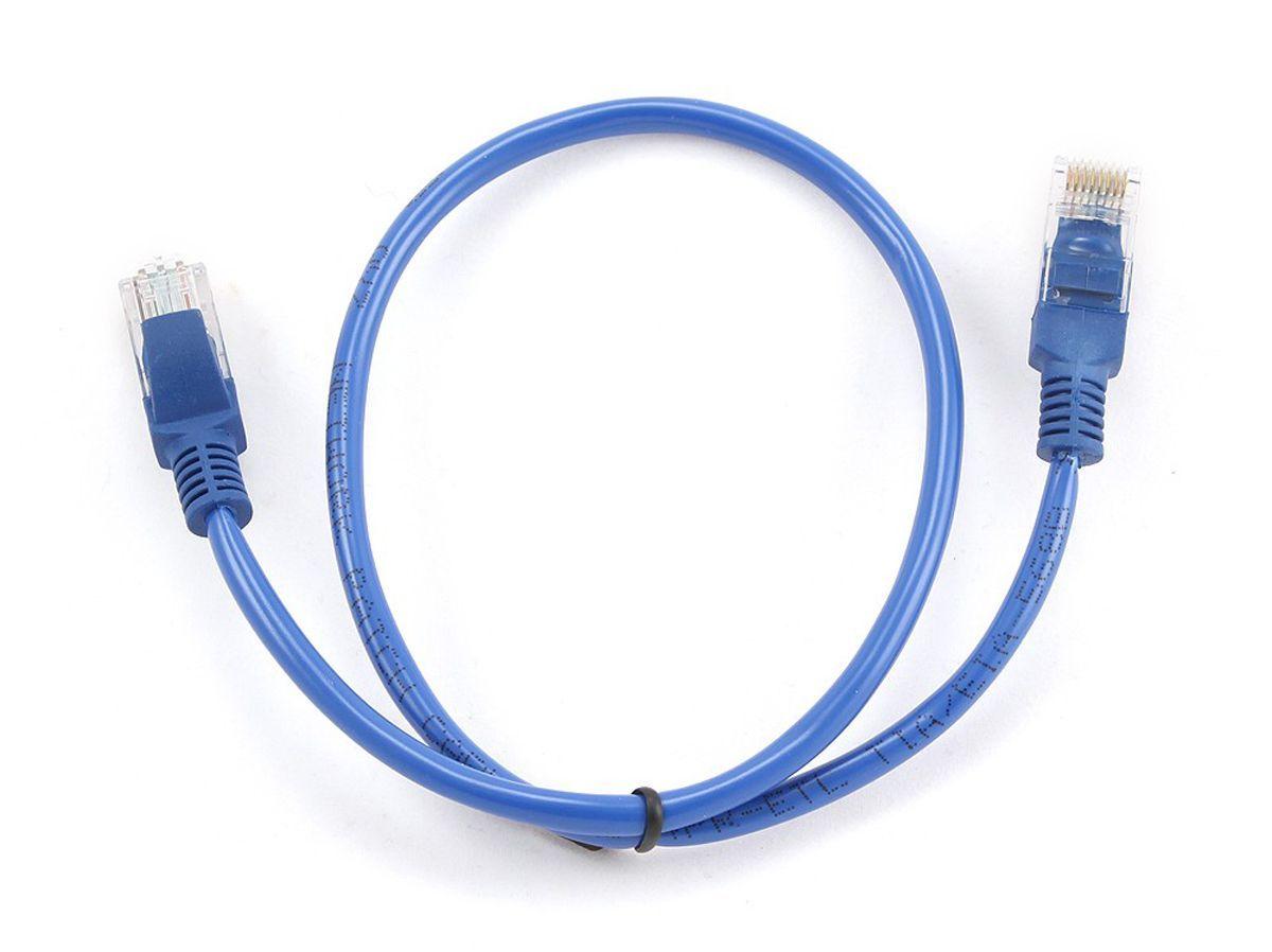 Gembird PP12-0.5M/B netwerkkabel Blauw 0,5 m Cat5e