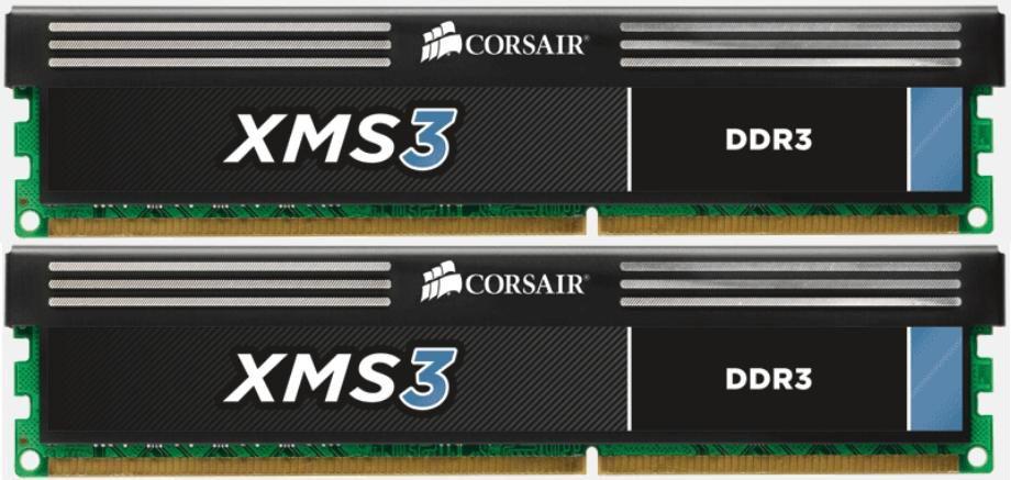 Corsair 16GB (2x 8GB) DDR3 XMS geheugenmodule 1333 MHz