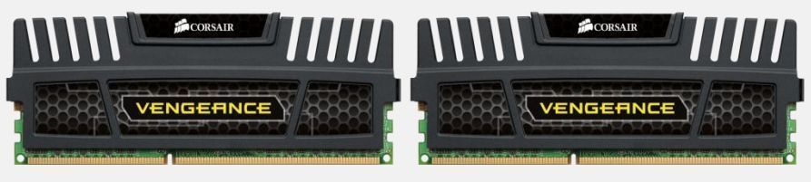 Corsair 16GB (2x 8GB) DDR3 Vengeance geheugenmodule 2 x 8 GB 1600 MHz