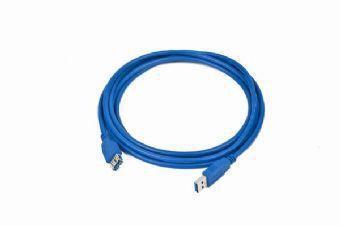 Gembird 3m USB 3.0 A M/FM USB-kabel USB 3.2 Gen 1 (3.1 Gen 1) USB A Blauw