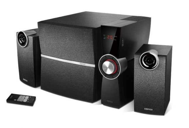 Edifier C2XD luidspreker set 2.1 kanalen 53 W Zwart