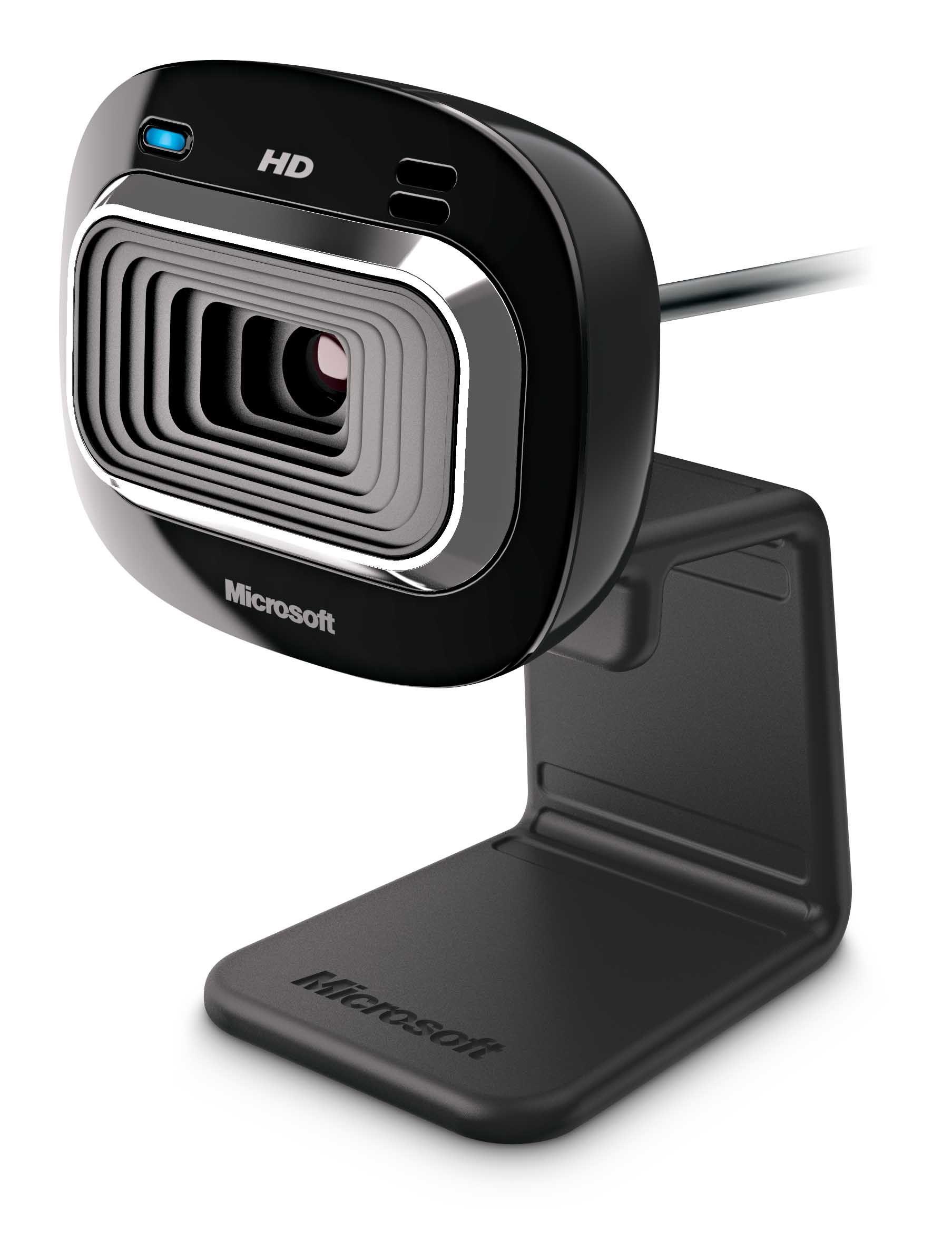 Microsoft LifeCam HD-3000 webcam 1 MP 1280 x 720 Pixels USB 2.0 Zwart