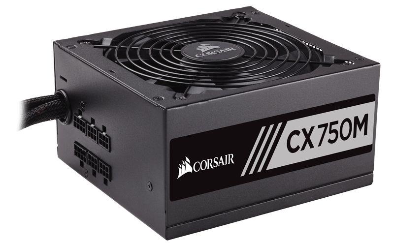 Corsair CX 750M power supply unit 750 W 20+4 pin ATX ATX Zwart