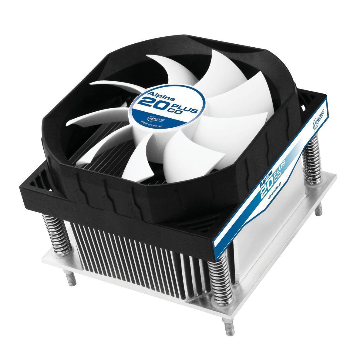 ARCTIC Alpine 20 PLUS CO Computer behuizing Ventilator 9,2 cm Zwart