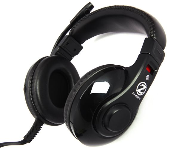 Zalman ZM-HPS200 hoofdtelefoon/headset Hoofdtelefoons Hoofdband Zwart
