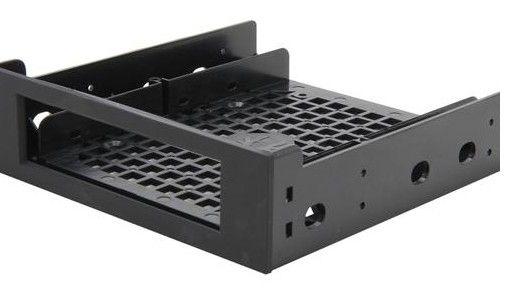 """BitFenix BFA-ADPT-525KK-RP drive bay panel 13,3 cm (5.25"""") Bezelplaat Zwart"""