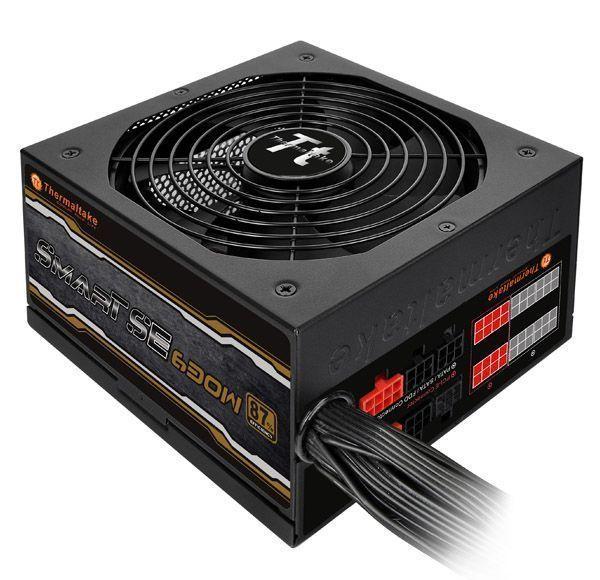 Thermaltake Smart SE power supply unit 630 W 20+4 pin ATX ATX Zwart