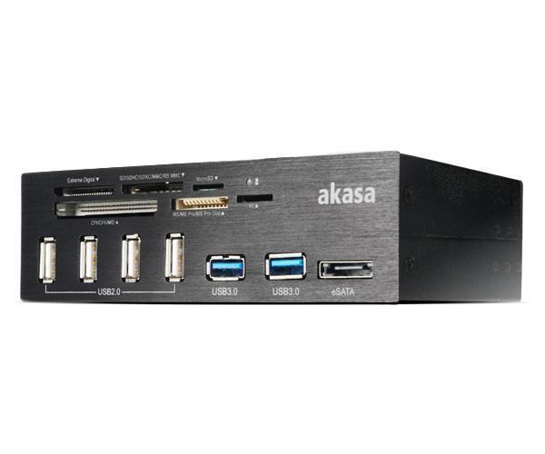 Akasa InterConnect Pro 5000 Mbit/s Zwart