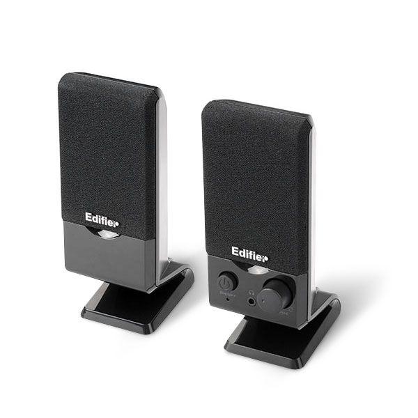 Edifier M1250 luidspreker 1,2 W Zwart Bedraad