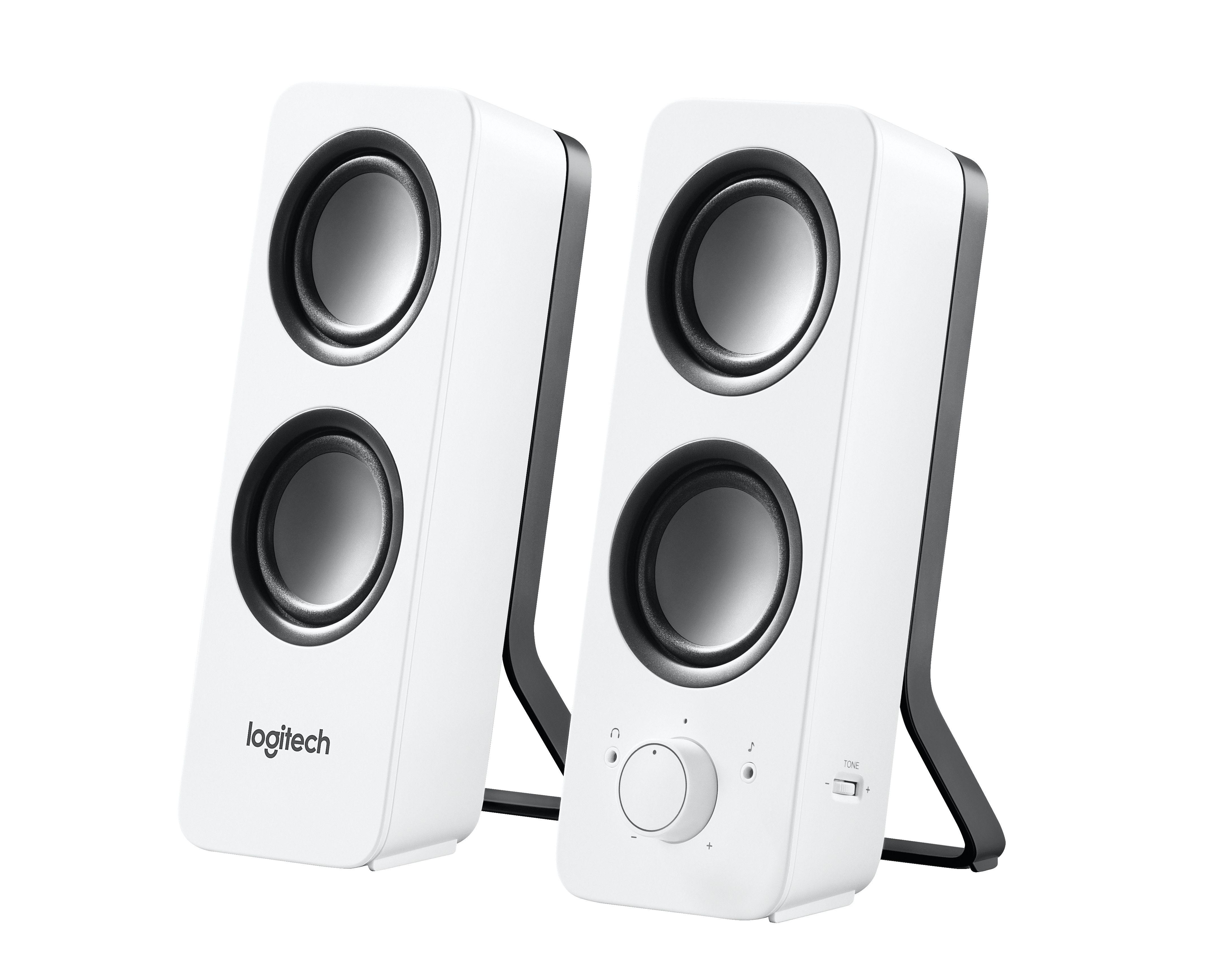 Logitech Z200 Stereo Speakers Wit Bedraad 10 W