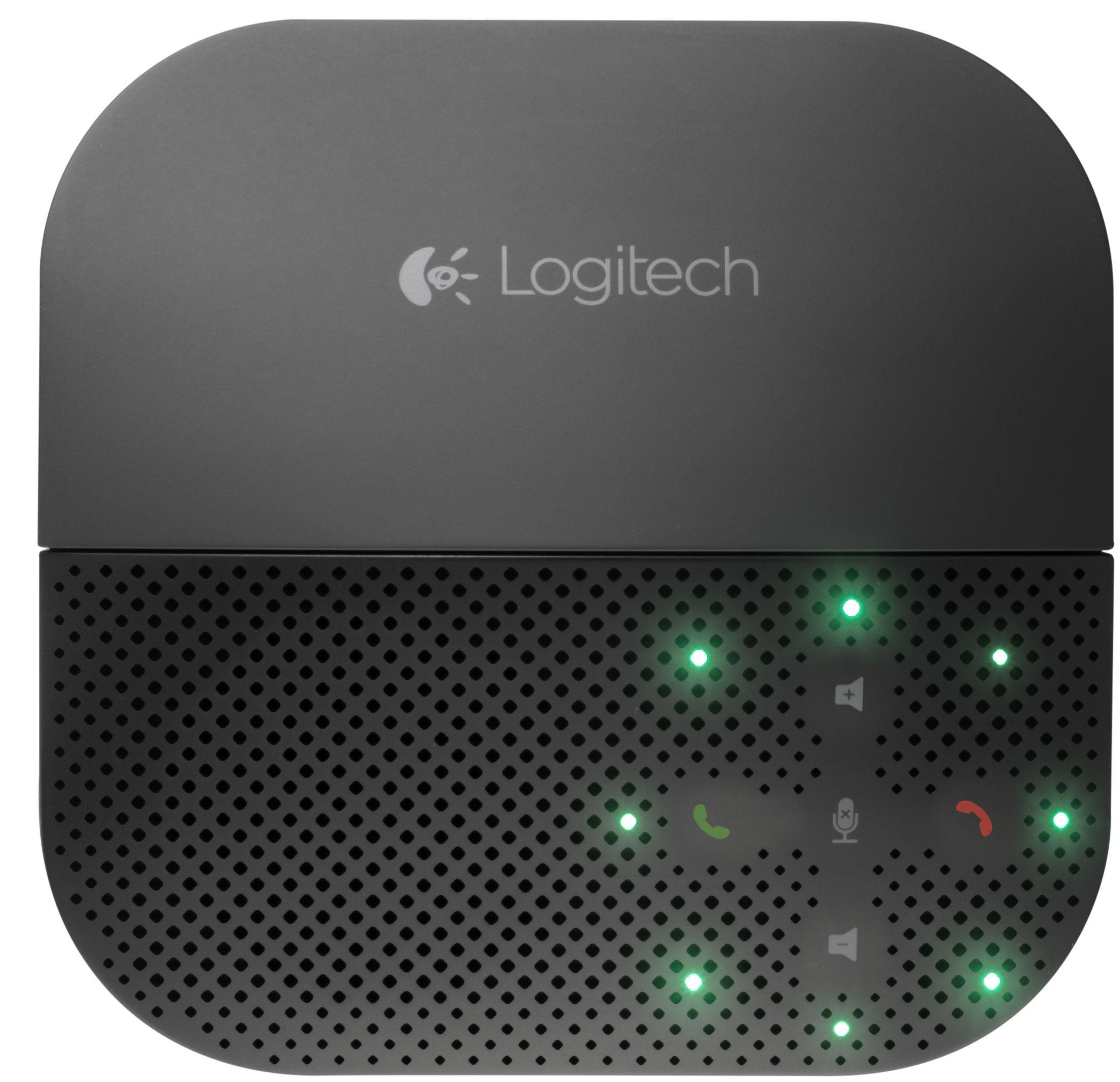 Logitech Mobile Speakerphone P710e luidspreker telefoon Mobiele telefoon USB/Bluetooth Zwart