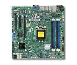 Supermicro X10SLM-F Intel® C224 LGA 1150 (Socket H3) micro ATX