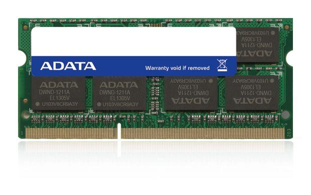 ADATA ADDS1600W8G11-B 8GB DDR3 1600MHz geheugenmodule